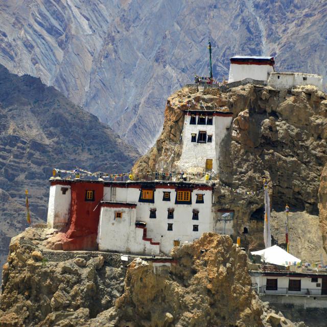 """The Monastery"" stock image"