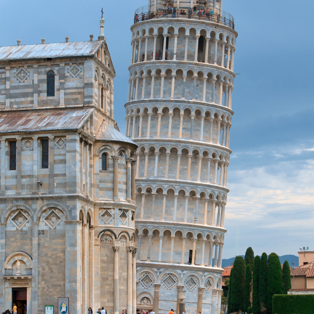 """The Leaning Tower of Pisa"" stock image"