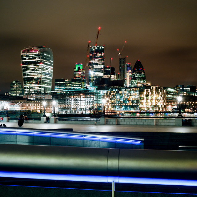 """london lights"" stock image"