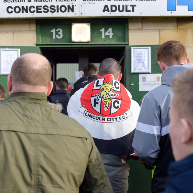 """Lincoln City Football Club"" stock image"