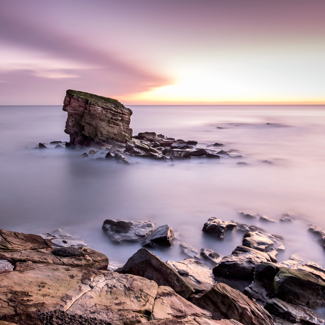 """Collywell Bay"" stock image"
