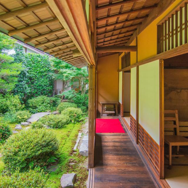 """Japanese art of housing"" stock image"