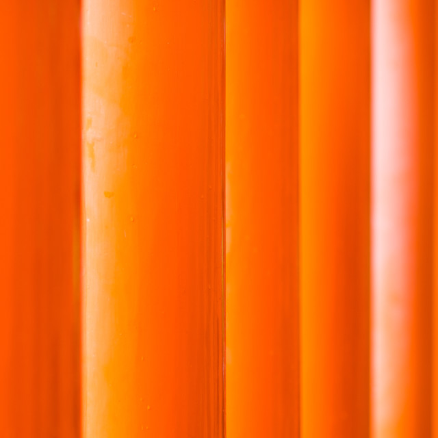 """Fifty shades of orange"" stock image"