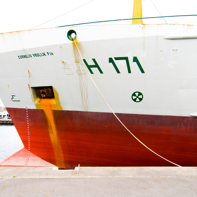 """""""Moored"""" stock image"""