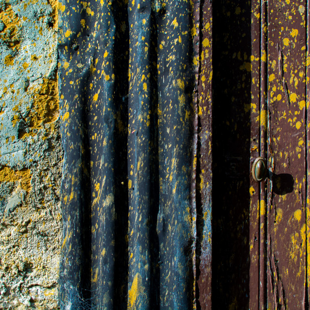 """Weathered"" stock image"