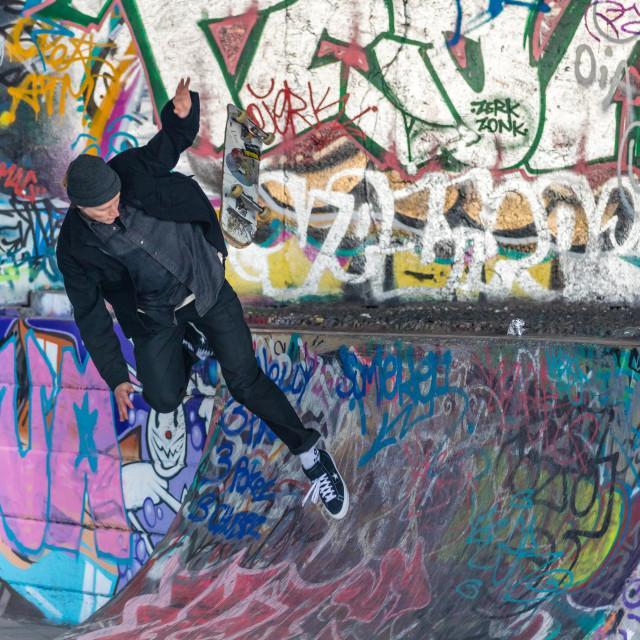 """Skateboarders"" stock image"