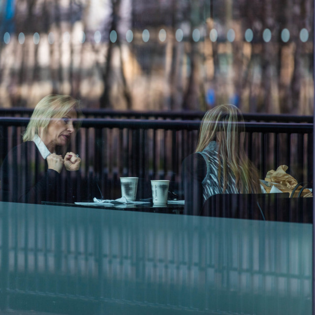 """Coffee Talk"" stock image"