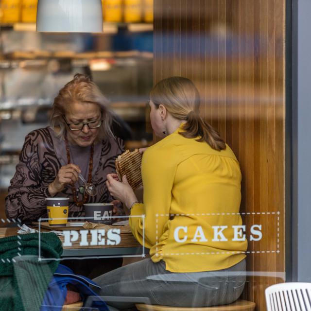 """""""Pies, Cake"""" stock image"""