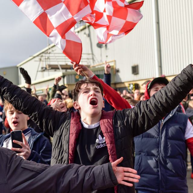 """""""Lincoln City FC"""" stock image"""