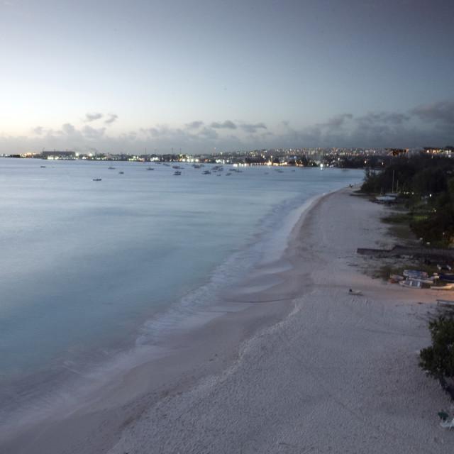 """Bridgetown Barbados"" stock image"