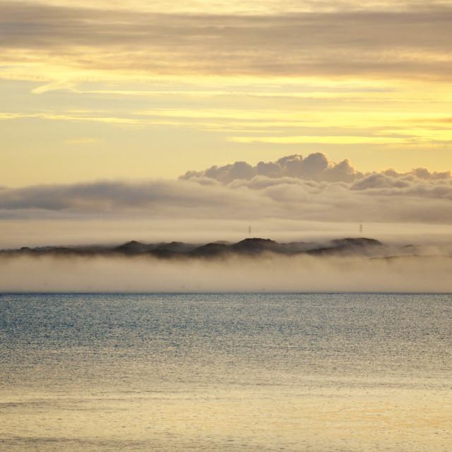 """Misty Dawn"" stock image"