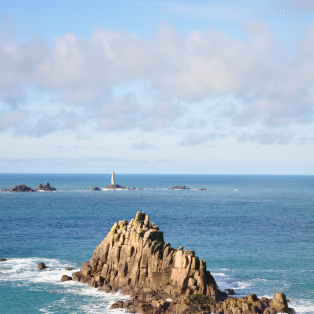 """Coastal Rocks"" stock image"