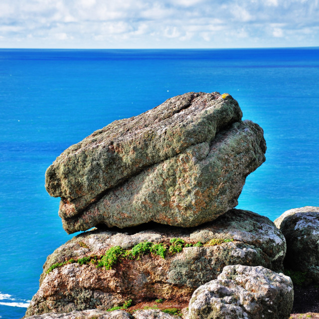 """Coastal Rocks"" stock image"