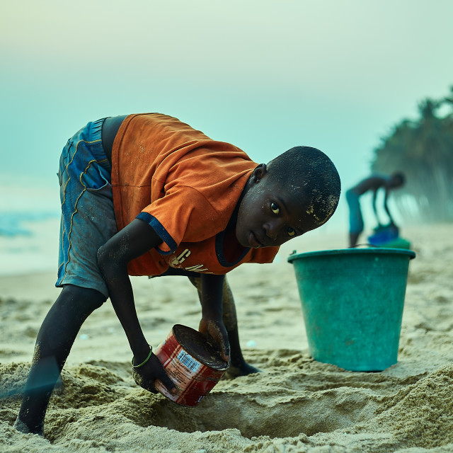 """""""Our Ghana - Young Entreprenuer"""" stock image"""