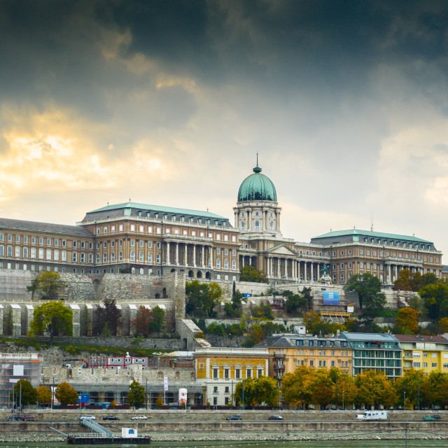 """Buda Castle"" stock image"