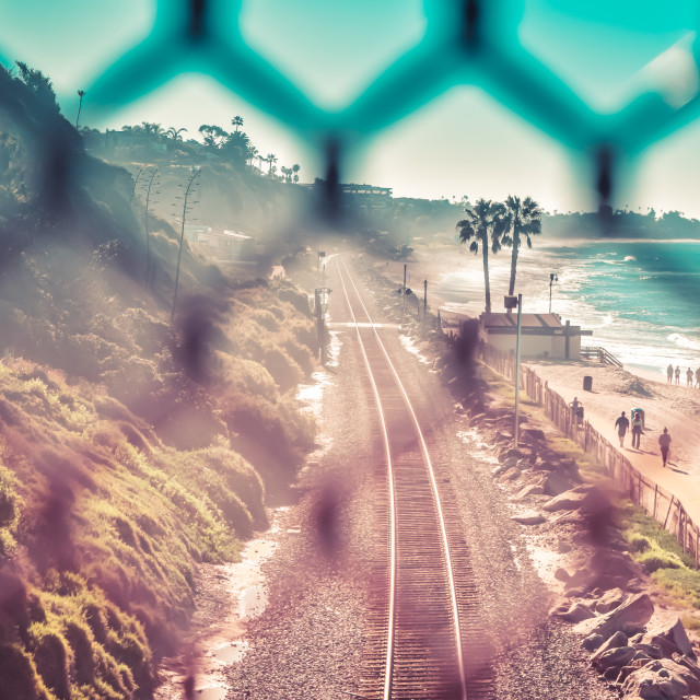 """San Clemente"" stock image"