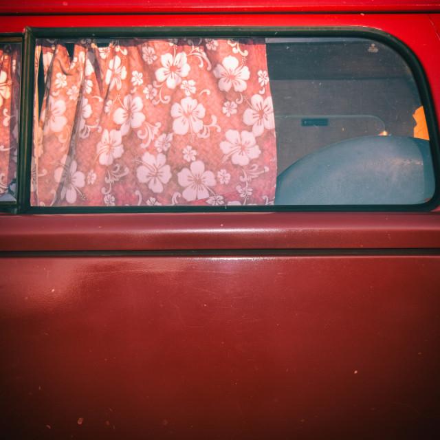 """VW Van Detail"" stock image"