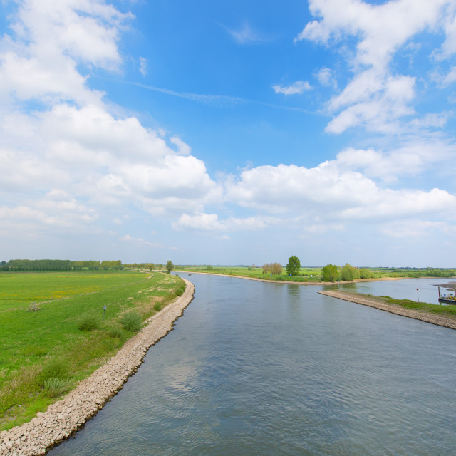 """""""River in Holland"""" stock image"""