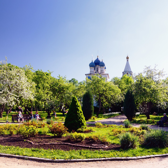 """Museum Reserve of Kolomenskoe, Moscow, Russia, in Spring"" stock image"