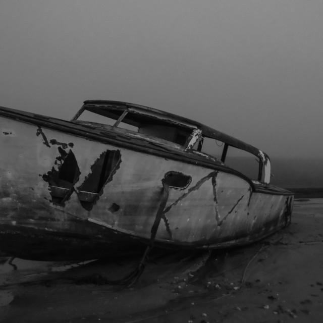 """""""Boat wreck"""" stock image"""