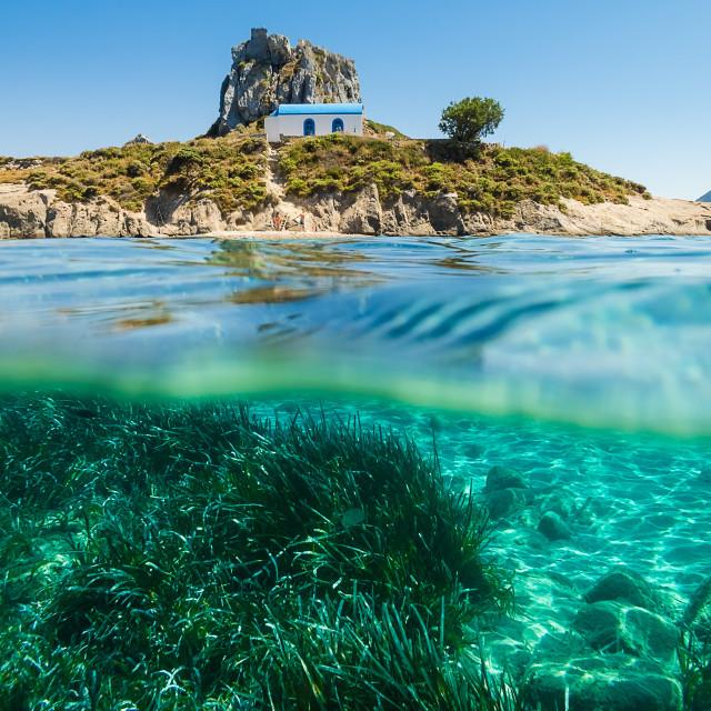 """Summer in Kos island"" stock image"