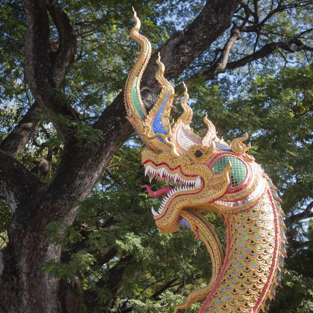 """THAILAND LAMPANG WAT PHRA KAEA DON TAO TEMPLE"" stock image"