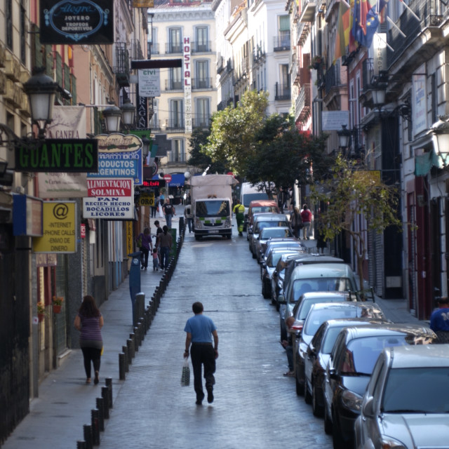 """Madrid Streets"" stock image"