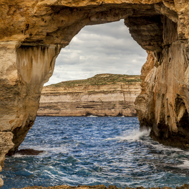 """Azure Window-Gozo Malta"" stock image"