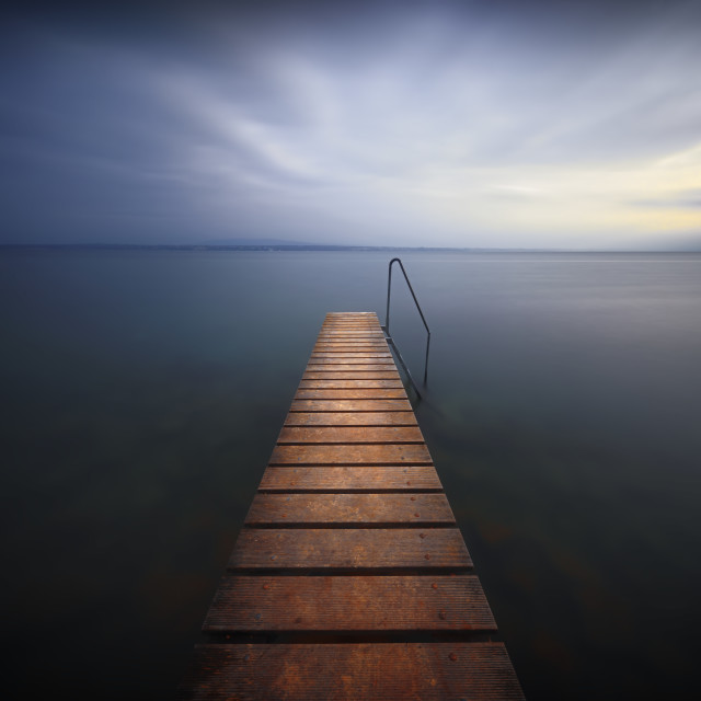 """Walkway to Happiness"" stock image"