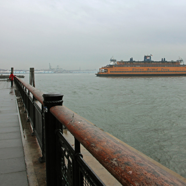 """Staten Island ferry"" stock image"