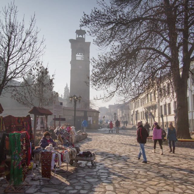 """Bansko, Bulgaria"" stock image"