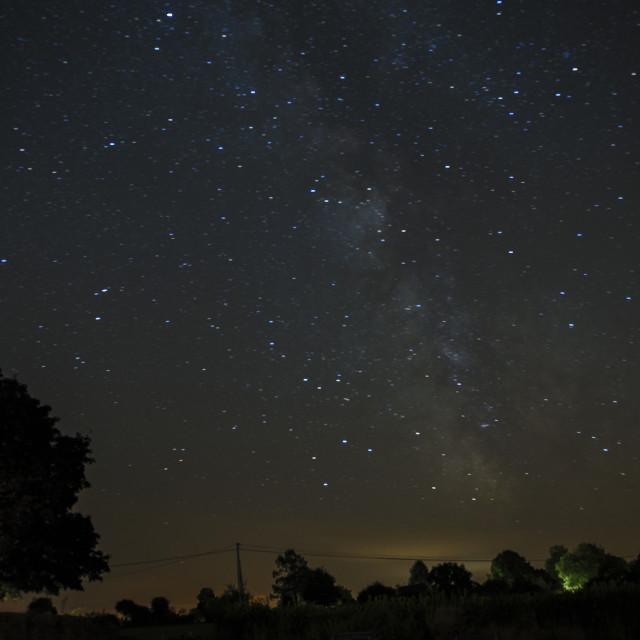 """""""Night Sky in France"""" stock image"""