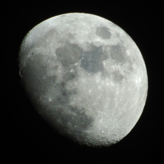 """Moon Looking great"" stock image"
