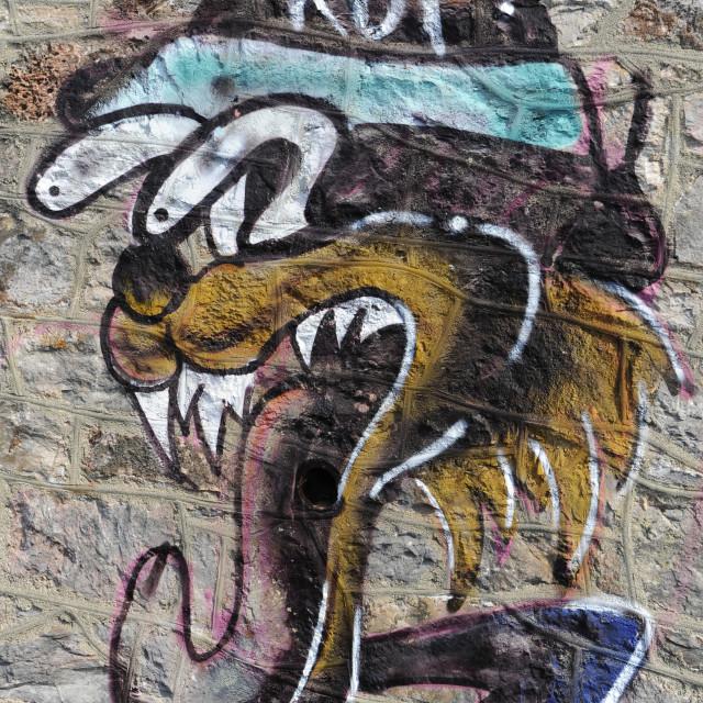 """Grafiti"" stock image"
