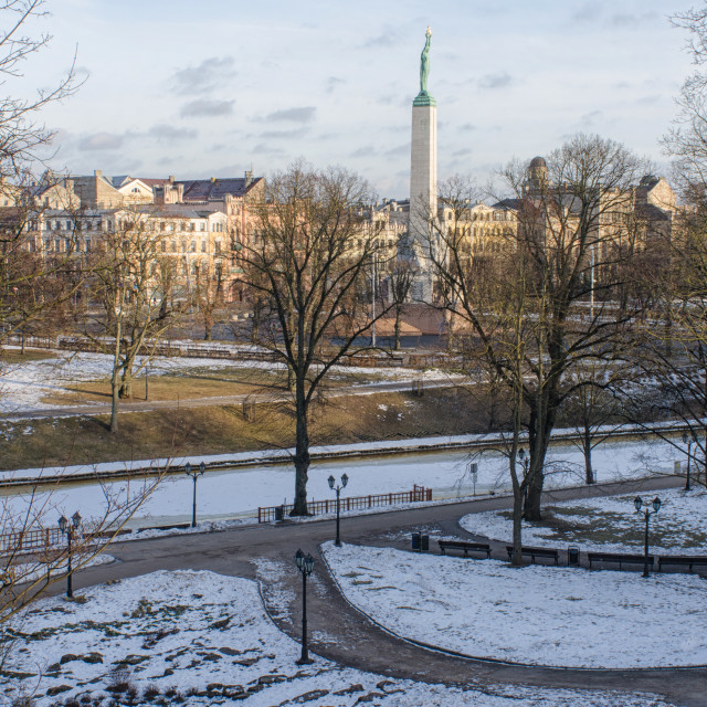 """Freedom In Latvia"" stock image"