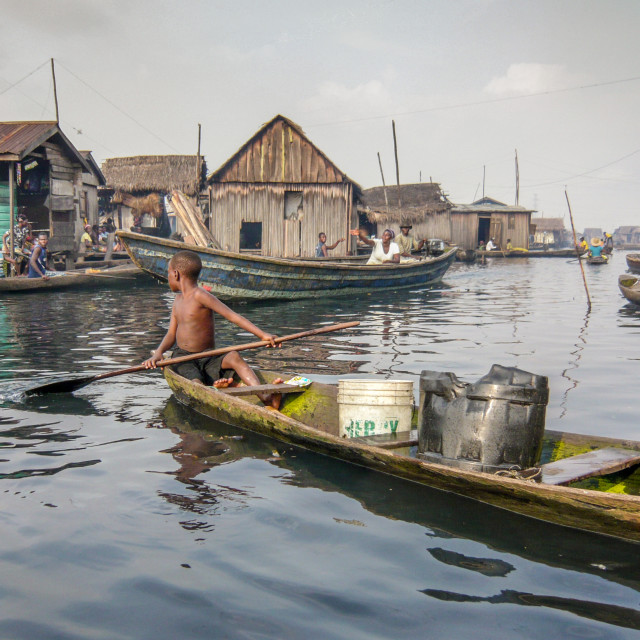 """""""Lagos, Nigeria"""" stock image"""