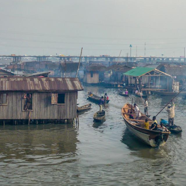 """""""Lagos Nigeria"""" stock image"""