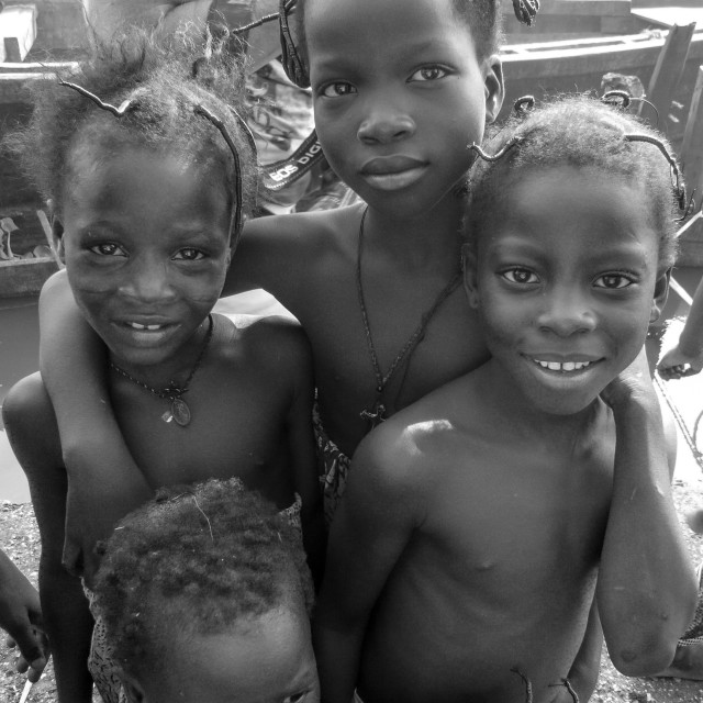 """Children in Lagos Nigeria"" stock image"