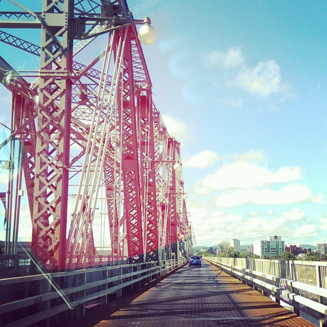 """Bridge to Gatineau"" stock image"