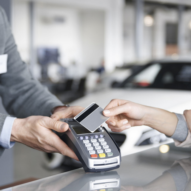 """""""Close up of prox card payment"""" stock image"""
