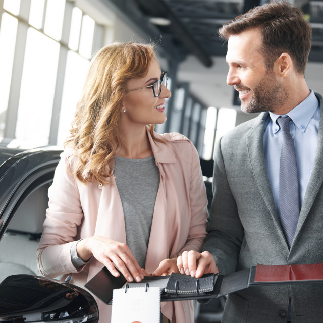 """""""It is all about the car details"""" stock image"""