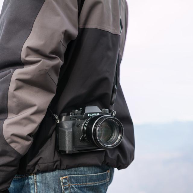 """Photographer & Camera"" stock image"