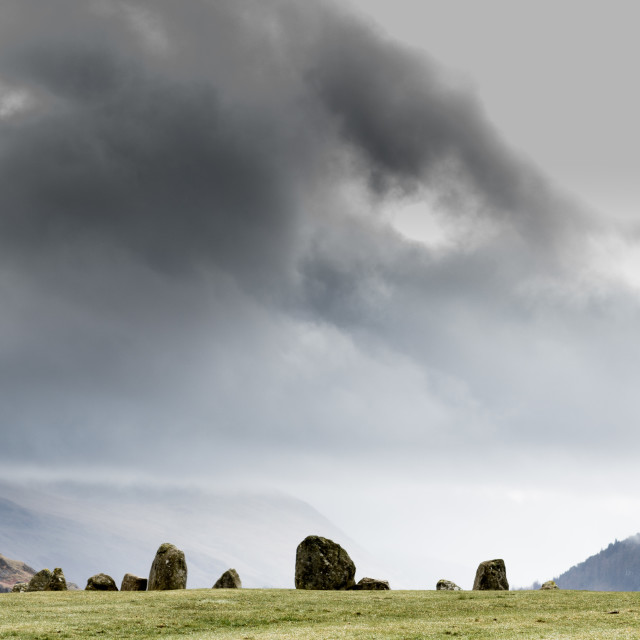 """Stone Circle"" stock image"