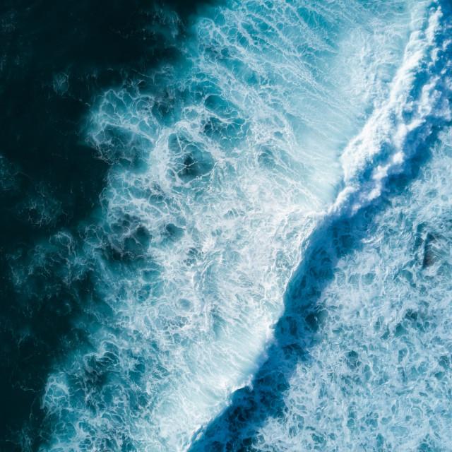 """""""Ocean waves"""" stock image"""