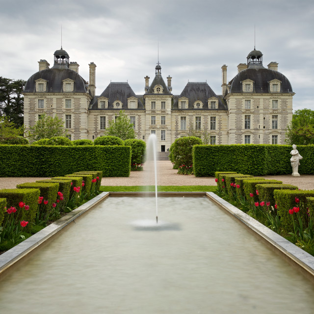 """chateau de cheverny"" stock image"