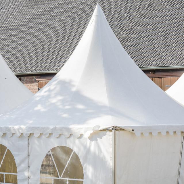 """Pagoda Tent"" stock image"