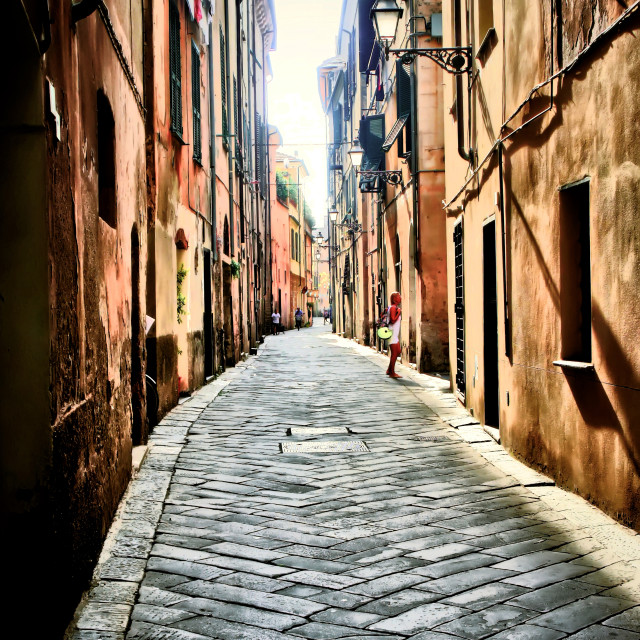 """Alley"" stock image"