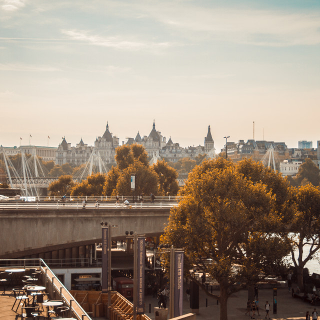 """""""London I Love You, But You're Bringing Me Down"""" stock image"""