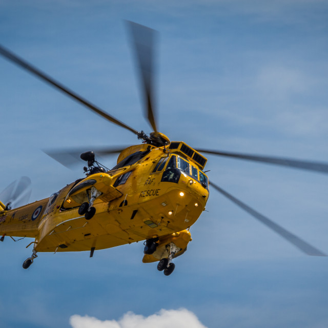 """SEA KING"" stock image"