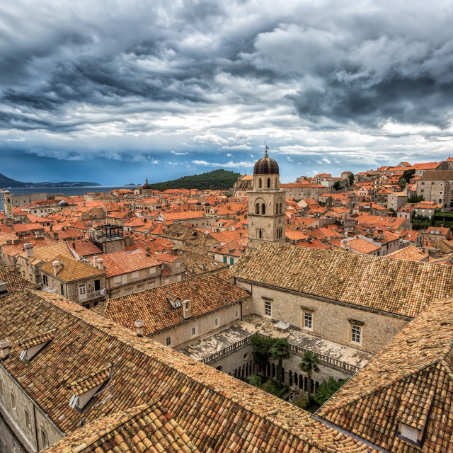 """Old Town Dubrovnik"" stock image"